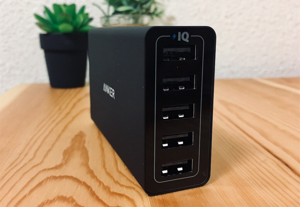 5ポートUSB充電器「Anker PowerPort5」がスタイリッシュかつ優秀