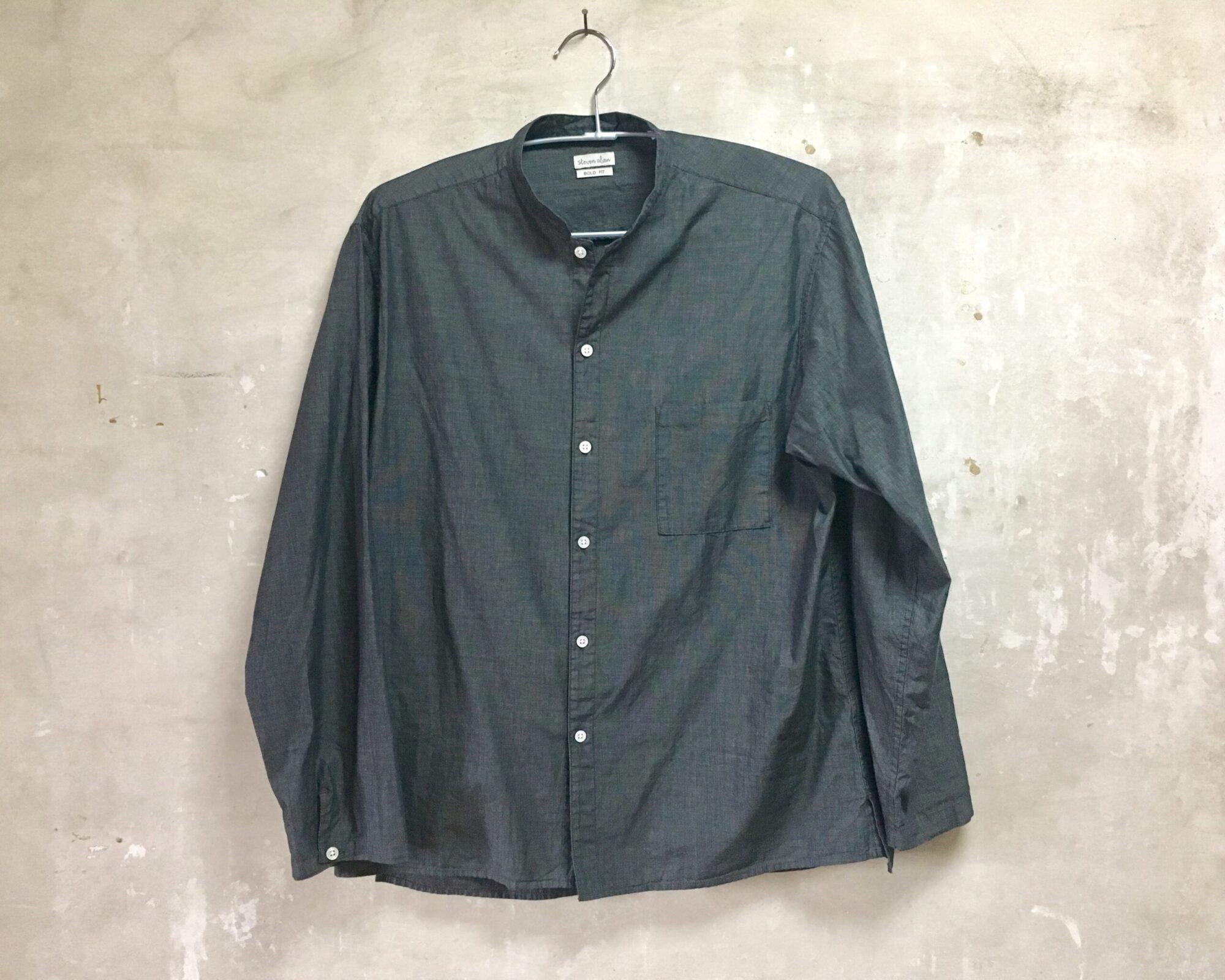 StevenAlan(スティーブンアラン)のコックシャツを紹介|コーデ例も